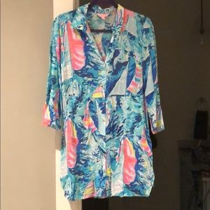 Lilly Pulitzer cover up!